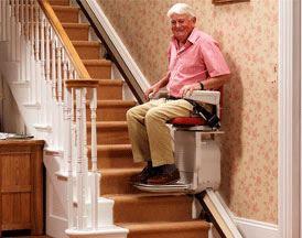 La société Stepcare propose une large gamme de monte-escaliers